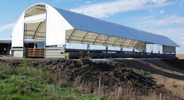 barns accu for covered types steel gallery buildings sale richter fabric building hoop
